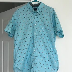 J Crew Men's short sleeve button down